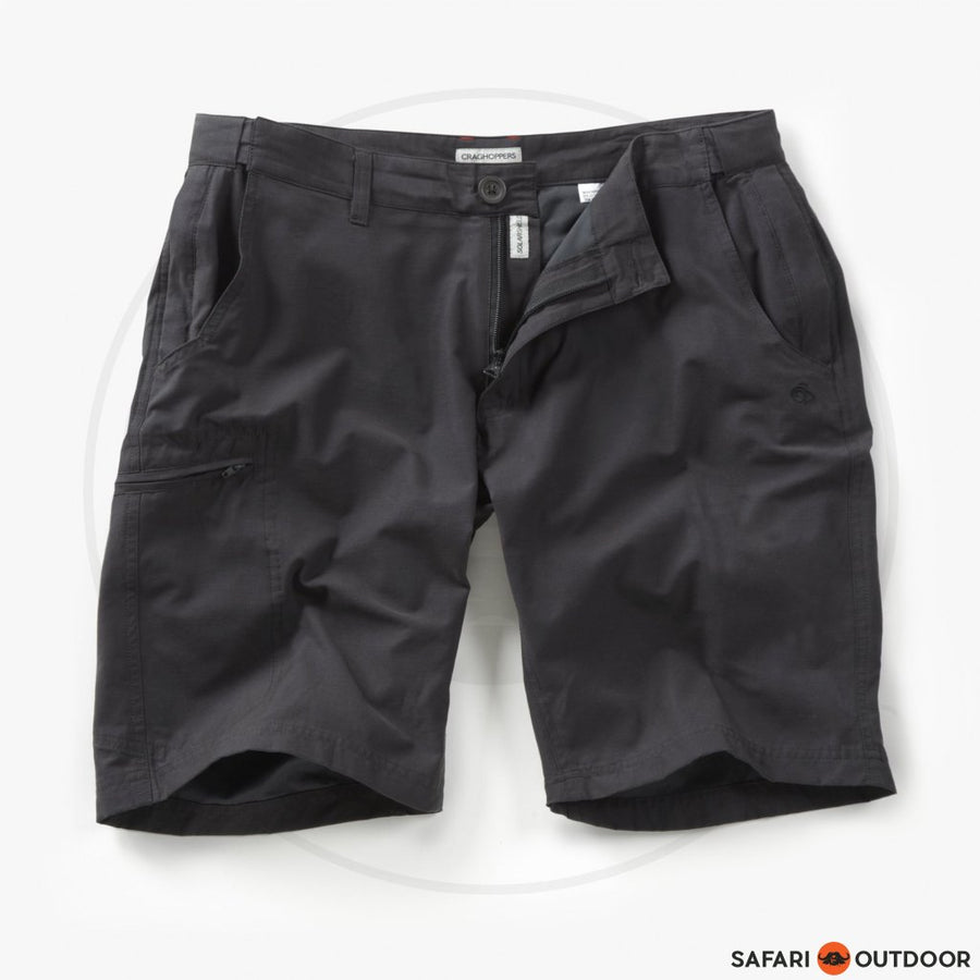 CRAGHOPPERS SHORTS MEN KIWI TREK - CHARCOAL