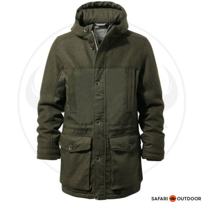CRAGHOPPERS JACKET MEN ANDERS -DARK MOSS