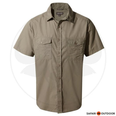 CRAGHOPPERS SHORT SLEEVE MEN -KIWI PEBBLE