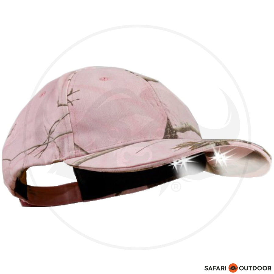 POWERCAP Pink Camouflage 4 LED