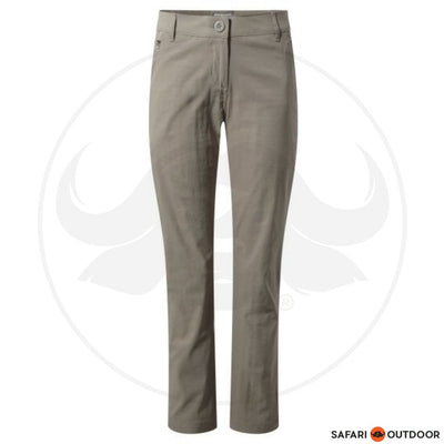 CRAGHOPPERS PANTS LADIES KIWI PROLITE -MUSHROOM