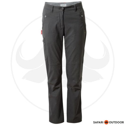 CRAGHOPPERS PANTS LADIES NOSELIFE PRO -CHARCOAL