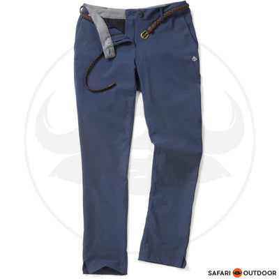 CRAGHOPPERS PANTS LADIES NOSILIFE FLEURIE - NAVY