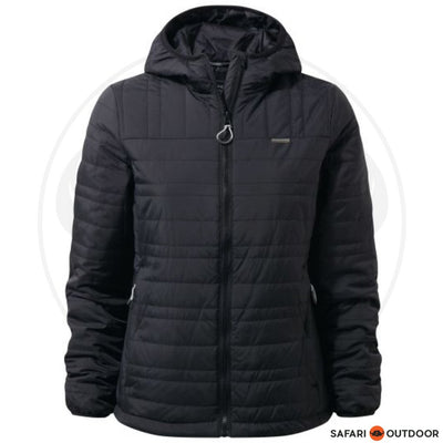 CRAGHOPPERS JACKET LADIES COMPRESSLITE II -BLACK