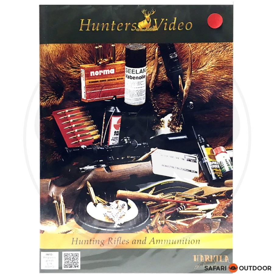 HUNTING RIFLES AND AMMUNITION - HUNTERS (DVD)