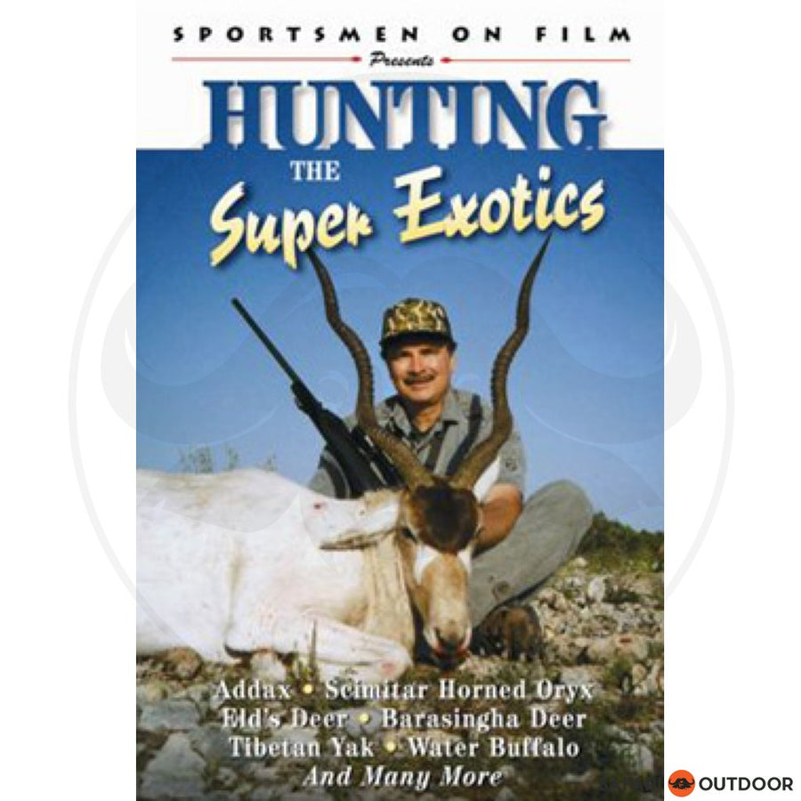 HUNTING THE SUPER EXOTICS (DVD)