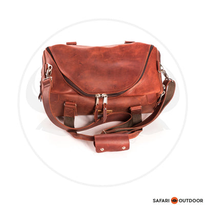 FILLY BAG DUFFLE ZANZIBAR -RED BROWN (S)