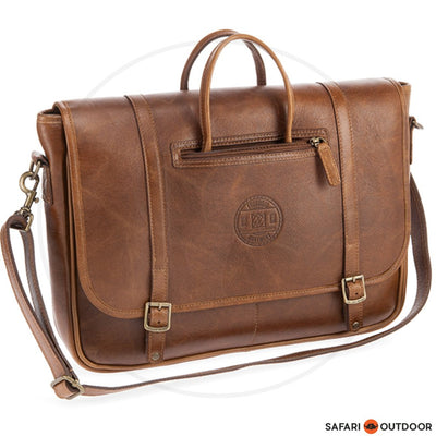 FREEDOM OF MOVEMENT  LAPTOP BAG RUSSEL -PECAN