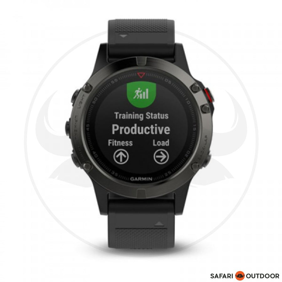 GARMIN FENIX 5 SAPHIRE BLACK  WATCH
