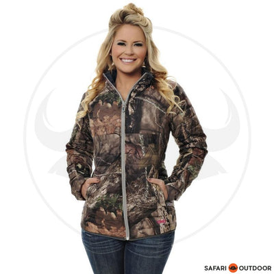 GIRLS WITH GUNS JACKET LADIES REVERSIBLE PUFFY -MOC
