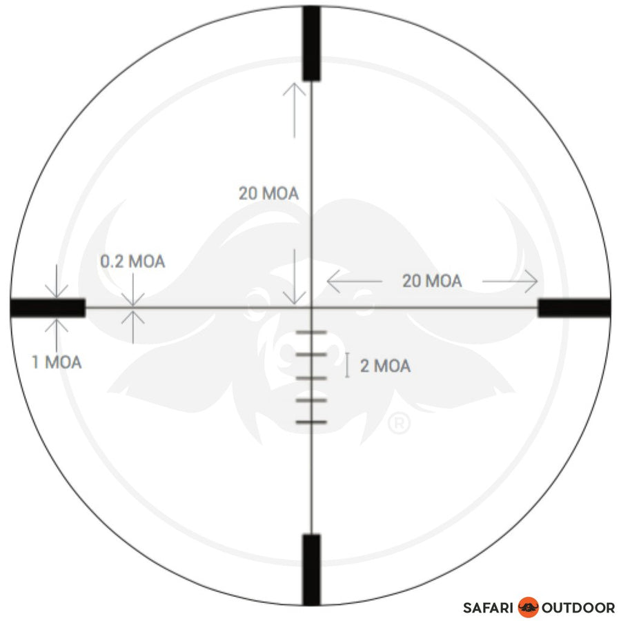 RUDOLPH H2 4-16X42MM SF T4 RETICLE SCOPE