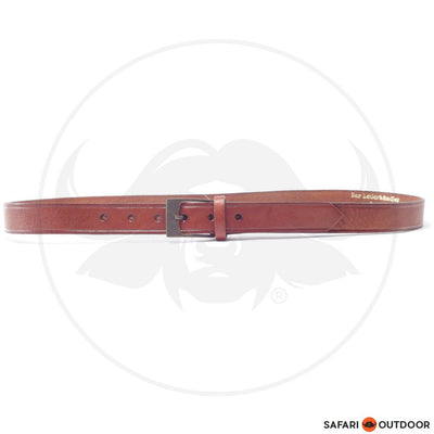 BELT LEDER PLAIN VEG TAN 38MM