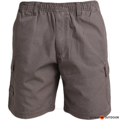 JEEP SHORT MEN 21CM ELASTIC - BARK