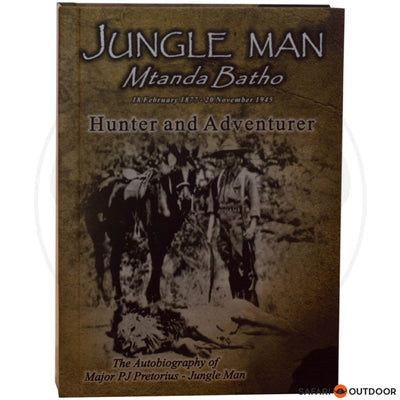 JUNGLE MAN - MTANDA BATHO (BOOK)