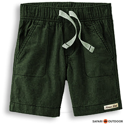 KAROO SHORT BOY DENIM -OLIVE