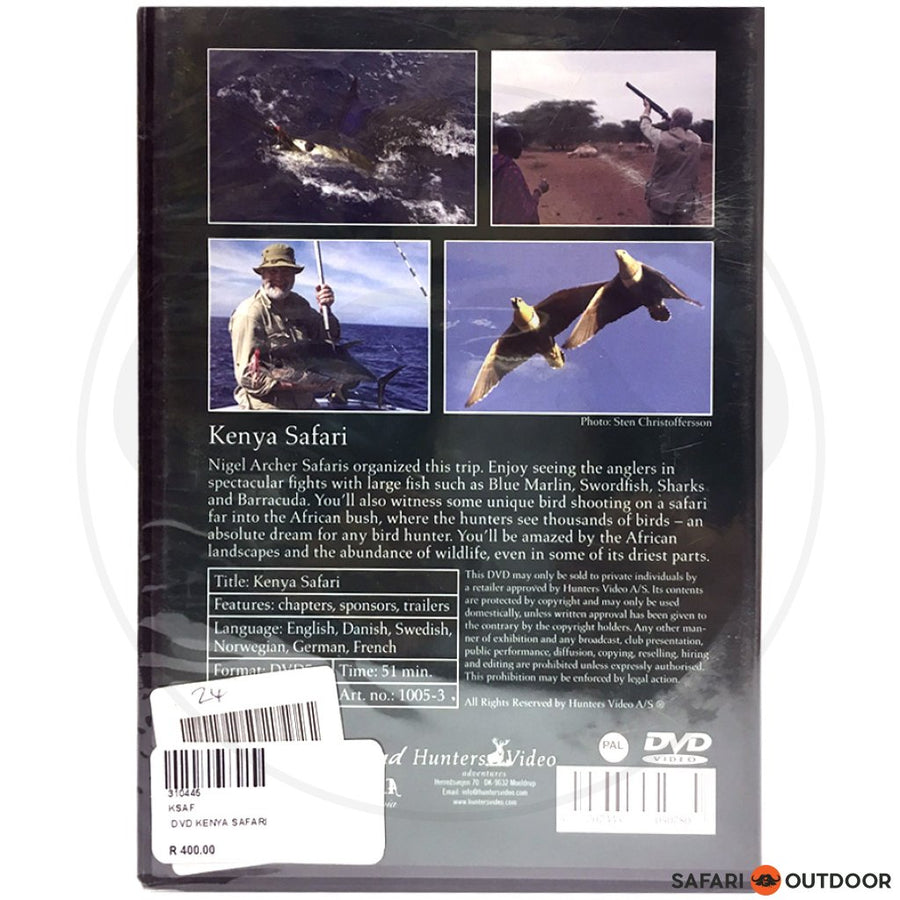 KENYA SAFARI (DVD)