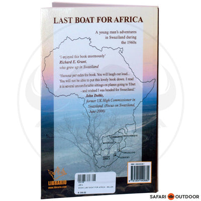 LAST BOAT FOR AFRICA - MILLER (BOOK)