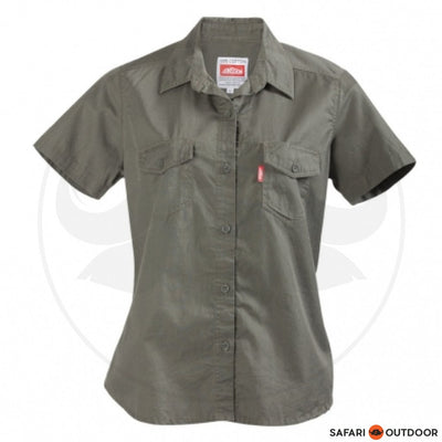 JONSSON SHIRT SHORT SLEEVE -FATIGUE