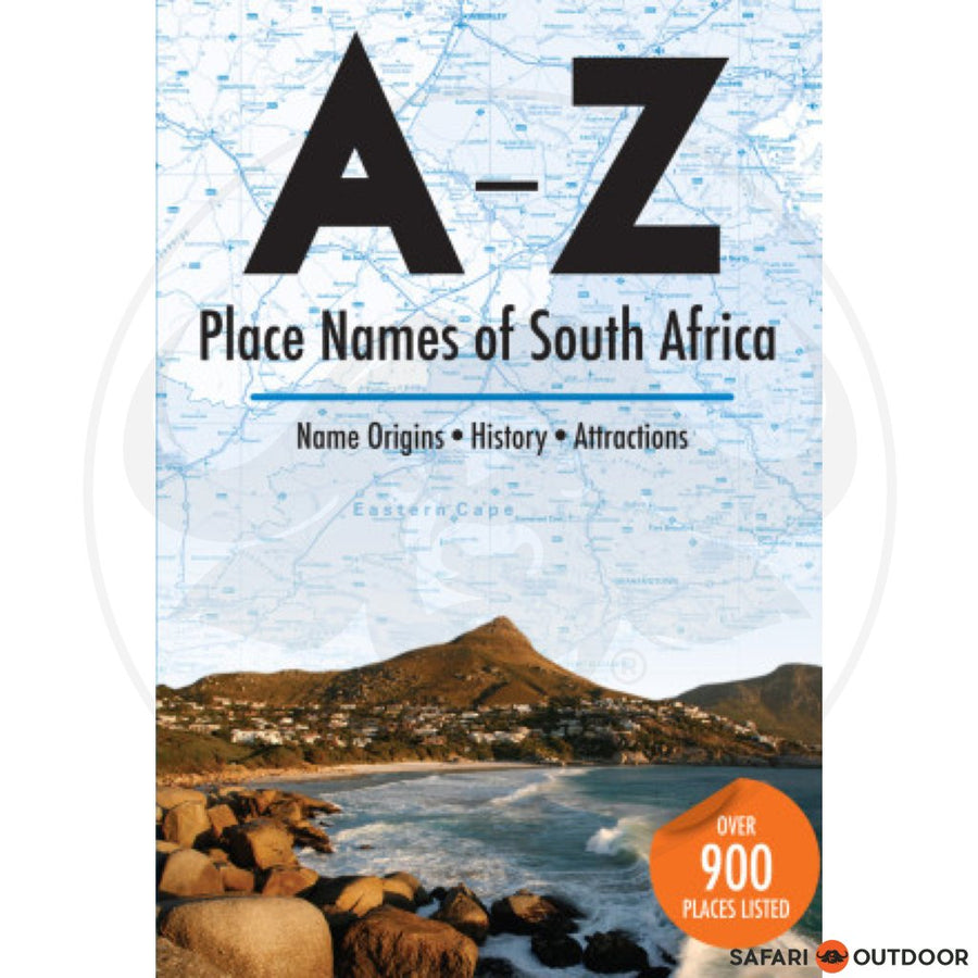 A - Z OF TOWN NAMES (BOOK)