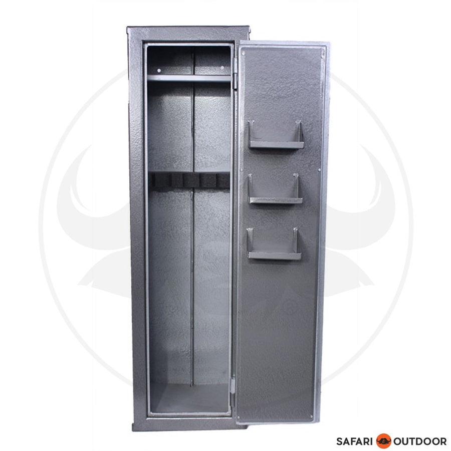 MAGNUM RIFLE SAFE 6 TOP SHELF & 3 SHELVES ON DOOR