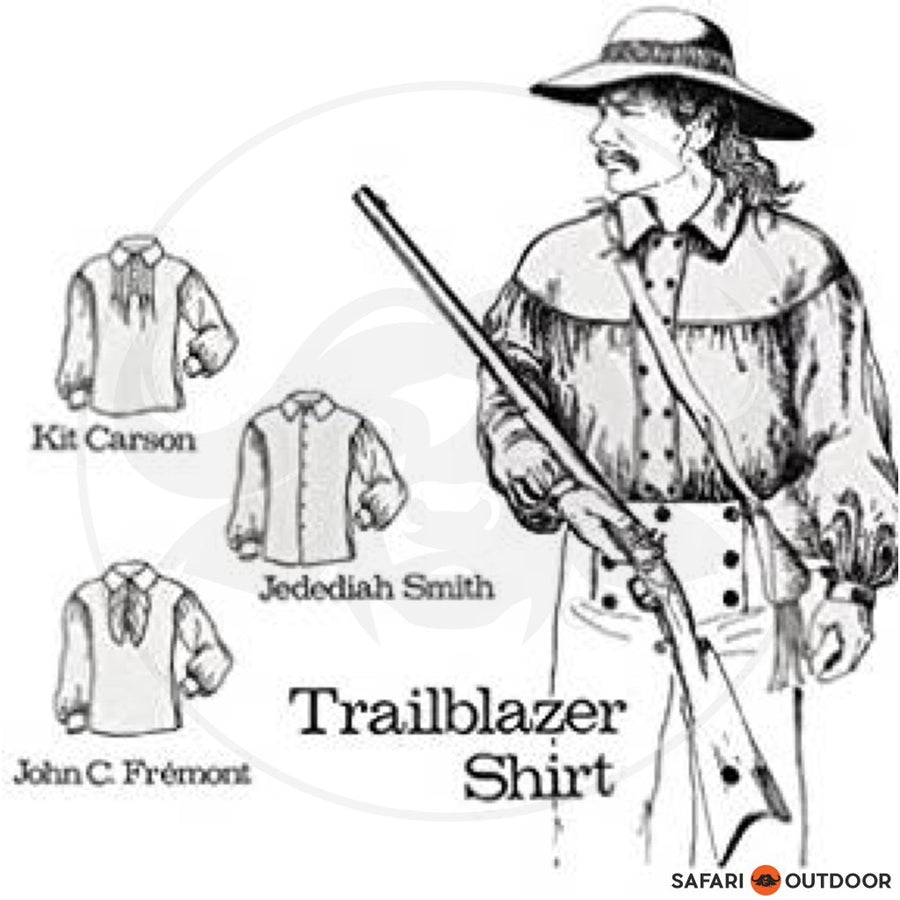 TRAILBLAZER SHIRT - PATTERN (BOOK)