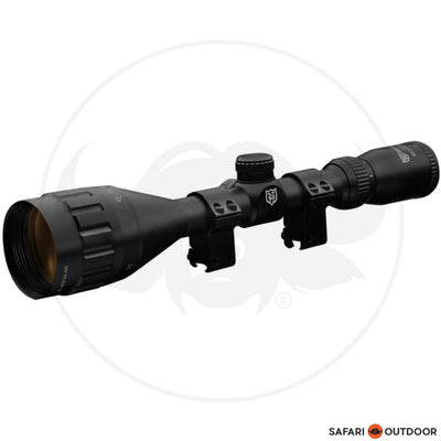 NIKKO STIRLING MOUNTMASTER 4-12X50 4 PLEX NON-ILLUMINATED SCOPE