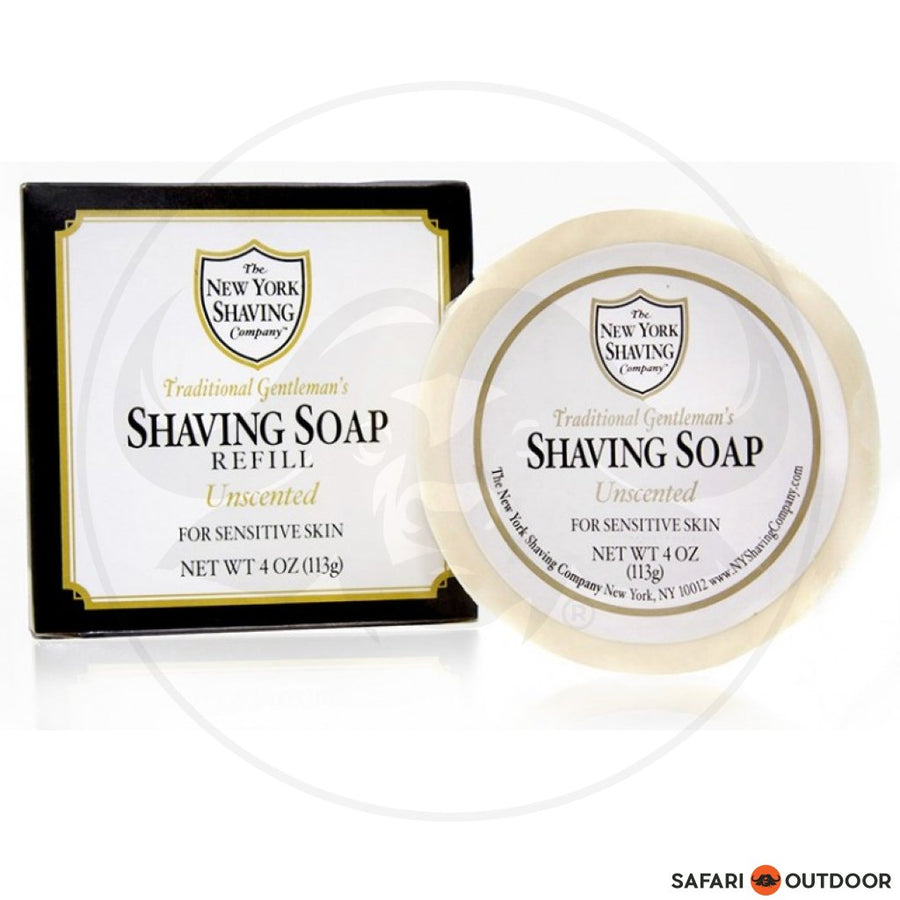 NEW YORK SHAVE ORIG UNSCENTED SHAVE SOAP REFILL