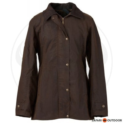 BURKE AND WILLS OXFORD JACKET -BROWN