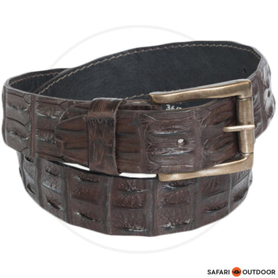 ROGUE BELT ROLLED 15R MEN CROC BROWN