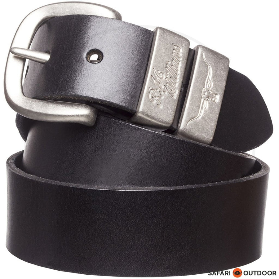 RM WILLIAMS BELT WORK -BLACK