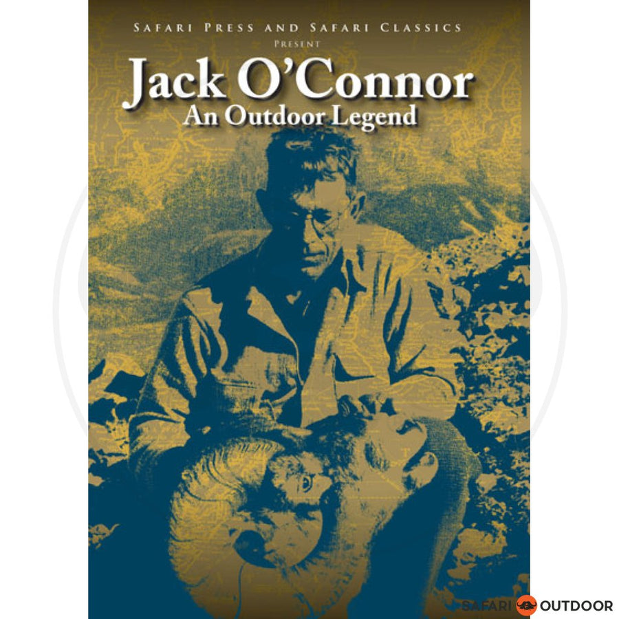 JACK O CONNOR- AN OUTDOOR LEGEND DVD