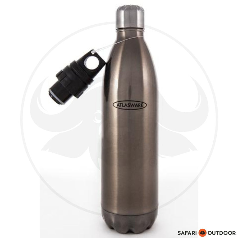 ATLASWARE SILVER STANDARD FLASK -500ML