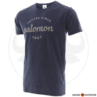 SALOMON T-SHIRT MEN FIGHT FLIGHT -NAVY