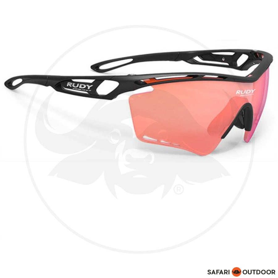 RUDY TRALYX BLACK M.-IMPX RACING RED GLASSES