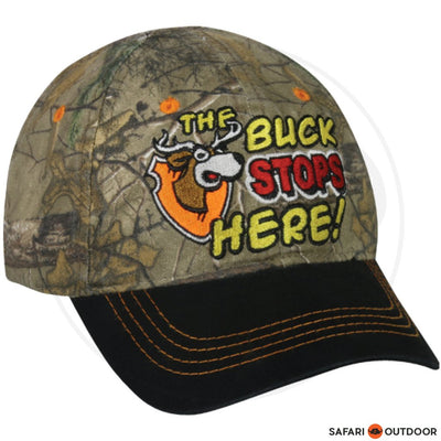 CAP OUTDOOR KIDZ BUCK STOPS HERE