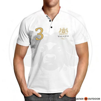 VAL DE VIE POLO SHIRT MEN NO 3 WHITE
