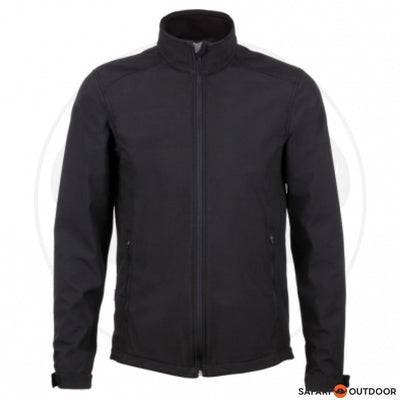 JONSSON JACKET SOFT SHELL MEN -BLACK