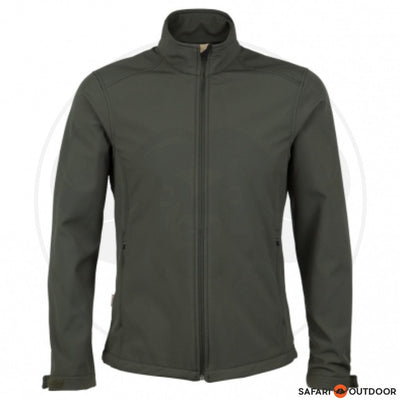 JONSSON JACKET SOFT SHELL MEN -FATIGUE