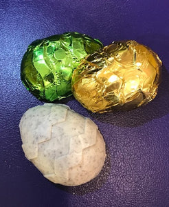 Solid foil Easter Egg- cookies 'n cream