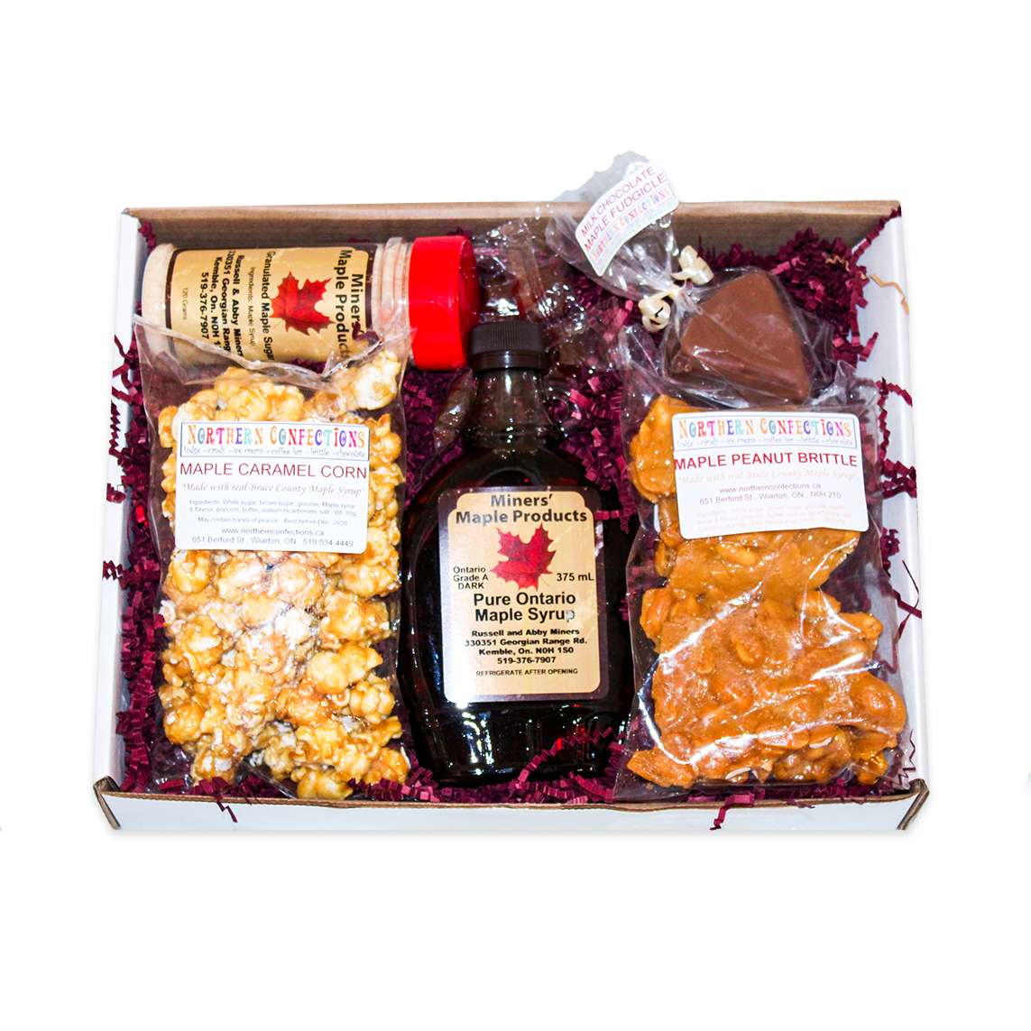 Canadian Maple Gift Box