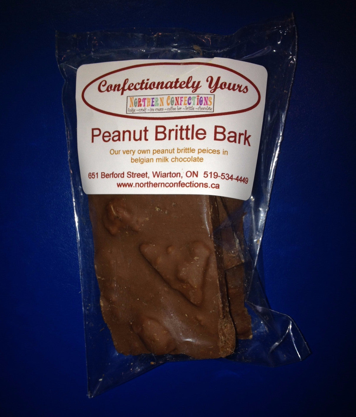 Peanut Brittle Bark