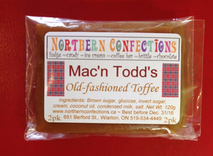 Mac 'n Todd's Toffee