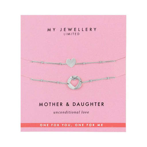 Mother & Daughter Bracelet - Silver