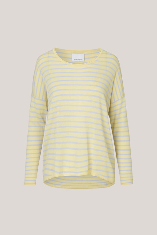 Kally Striped Knit Yellow
