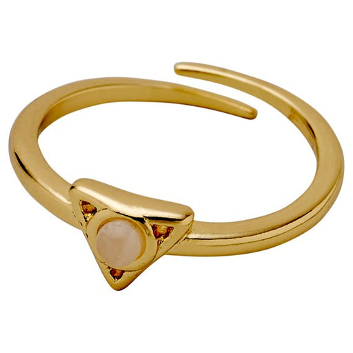 Alisa Ring Gold Plated