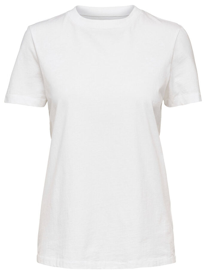 My Perfect Basic Cotton T-Shirt White