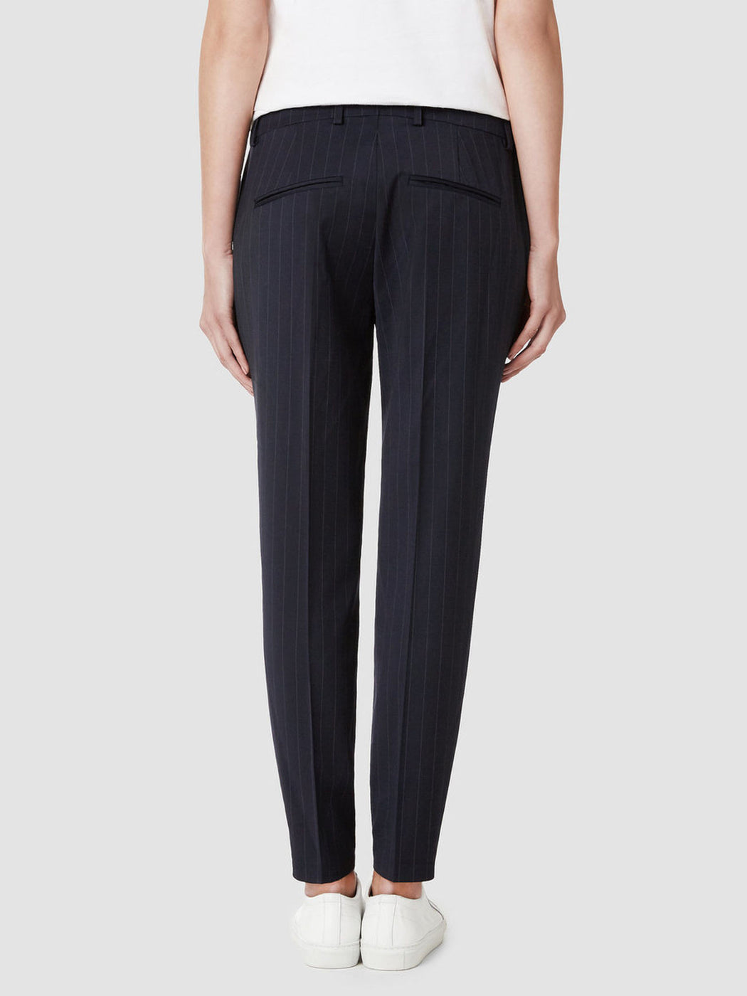 Foxy Lux Striped Pants Dark Navy
