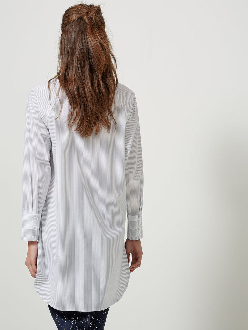 Balia Shirt White/Blue