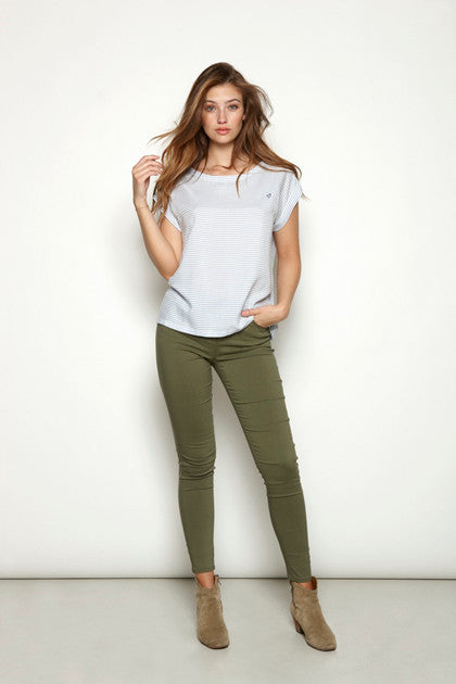 Trudy Jegging Dusty Olive