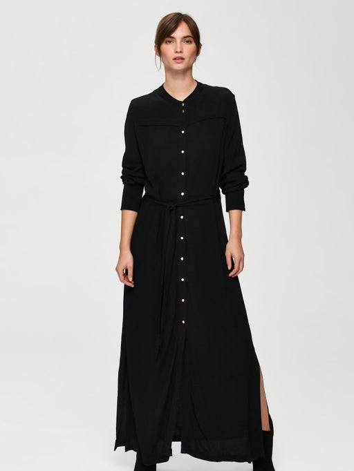 Hadley-Florenta Maxi Dress Black